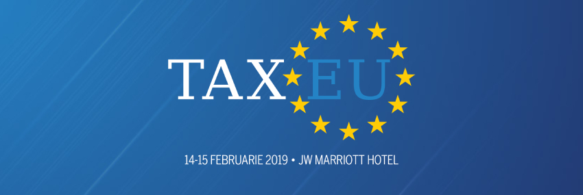 Anca Grigorescu exposes the privilege of absurdity in tax administration at TaxEU Forum 2019