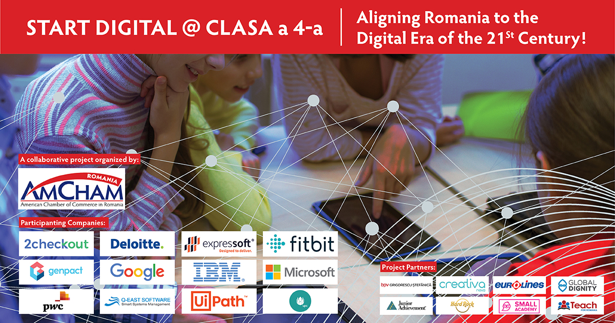 Start Digital @ Clasa a – 4 -a, a digital education project we proudly support