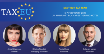 Let's meet at TaxEU Forum 2020